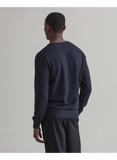 Gant Erkek Sweatshirt Lacivert